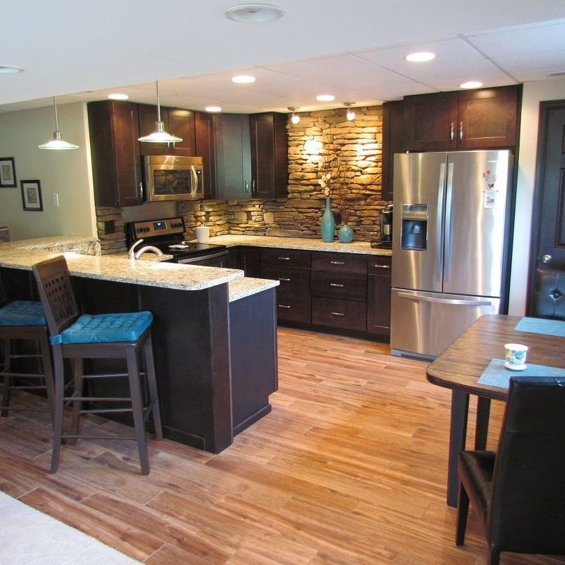Award-Winning Finished Basement